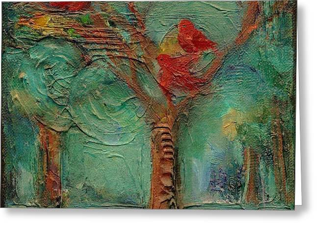 A Home In The Woods Greeting Card