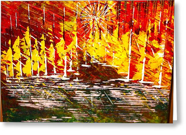 A Hot Summer Day.- Sold Greeting Card
