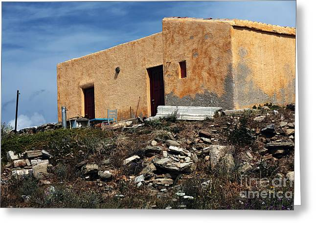 A House On Delos Greeting Card