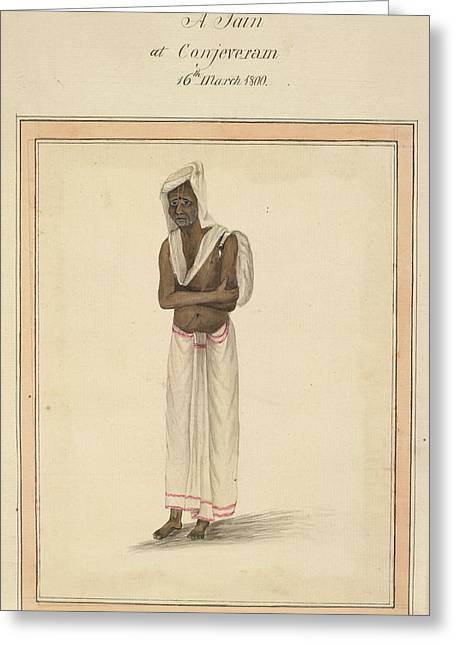 A Jain Greeting Card by British Library