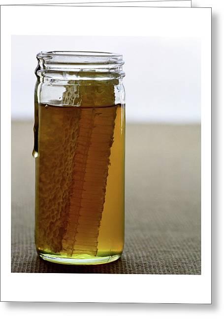 A Jar Of Honey Greeting Card