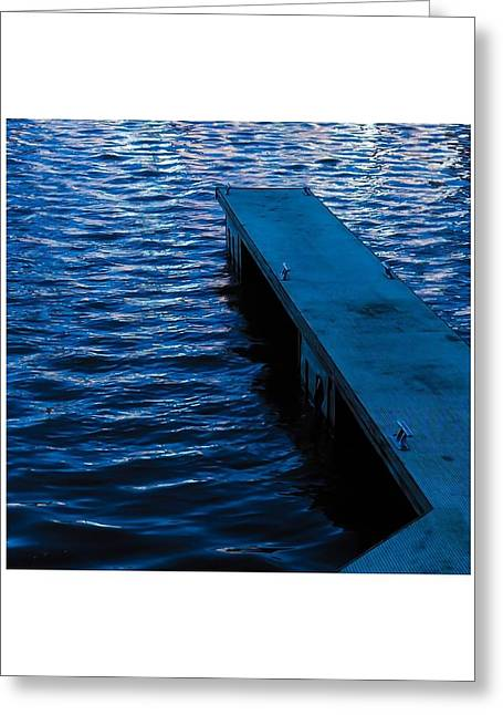 A Jetty's Life Greeting Card by Paul Tully