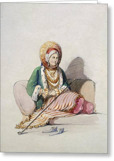 A Jewish Woman Greeting Card