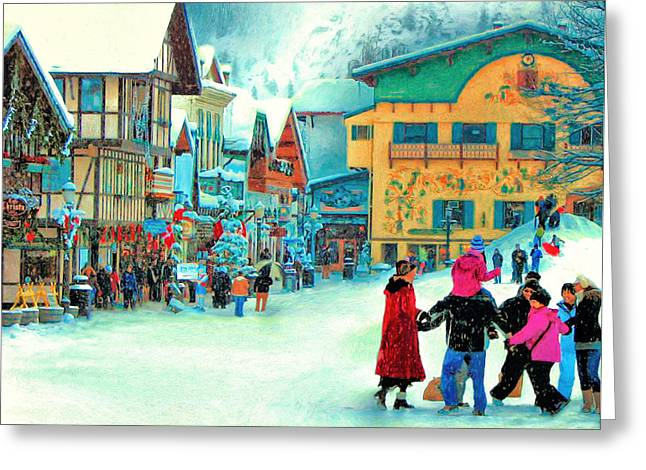 A Joyful Time Greeting Card by Michael Pickett
