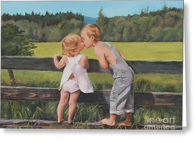 A Kiss For Little Sister Greeting Card