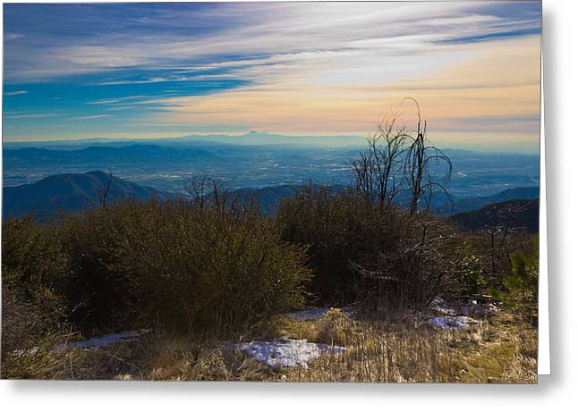 A Late Winter's Afternoon Greeting Card by Heidi Smith