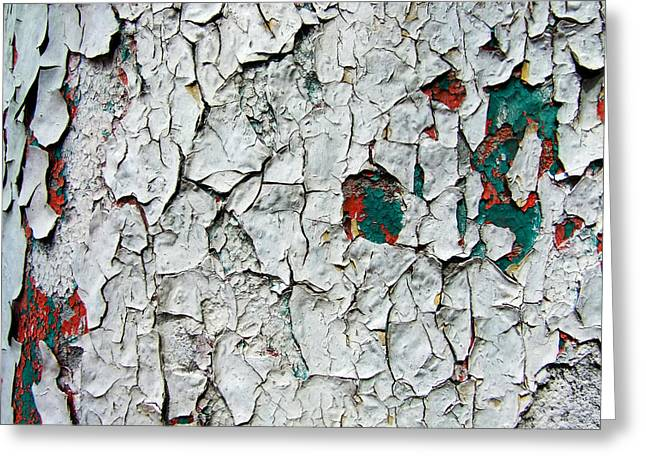 A Legacy In Peeling Paint Greeting Card by Robert Knight