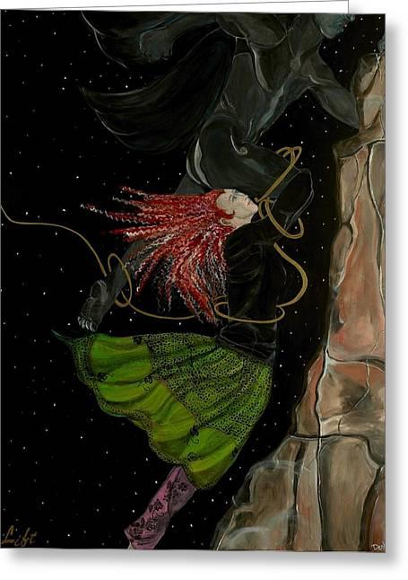 A Lift Greeting Card by Darlene Graeser