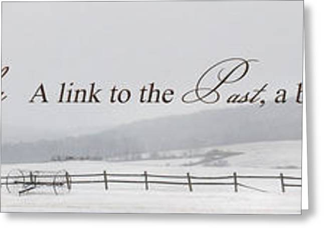 A Link To The Past Greeting Card by Lori Deiter