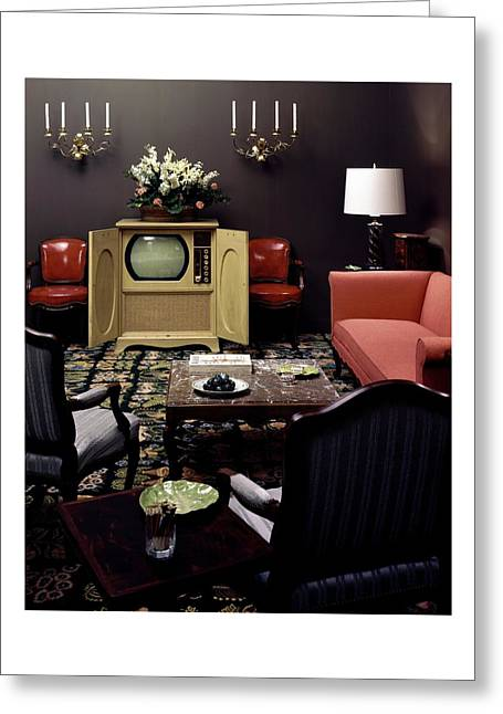 A Living Room Greeting Card