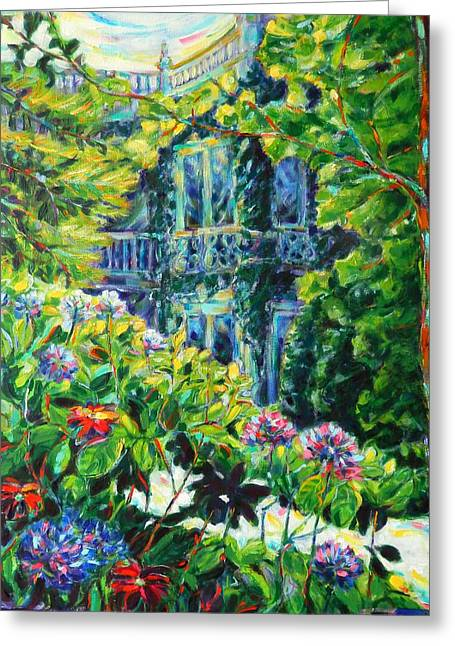A Mansion In St. Kilda Greeting Card by Zofia  Kijak