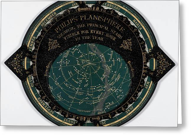 A Map Of The Stars Greeting Card by British Library