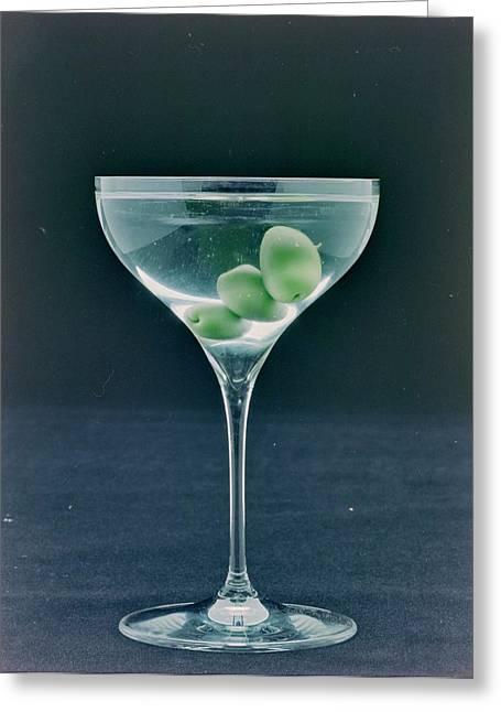 A Martini Greeting Card