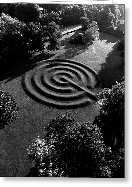 A Maze At The Chateau-sur-mer Greeting Card by Ernst Beadle