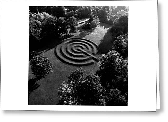 A Maze At The Chateau-sur-mer Greeting Card