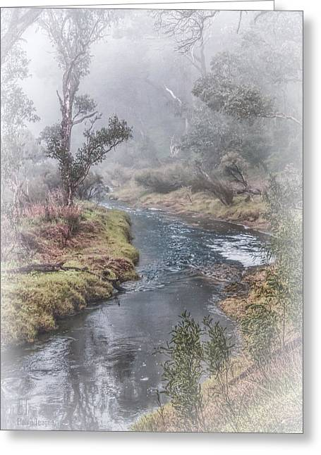 A Misty Morning In Bridgetown Greeting Card