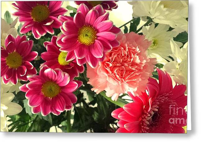 A Mix Of Colour Greeting Card