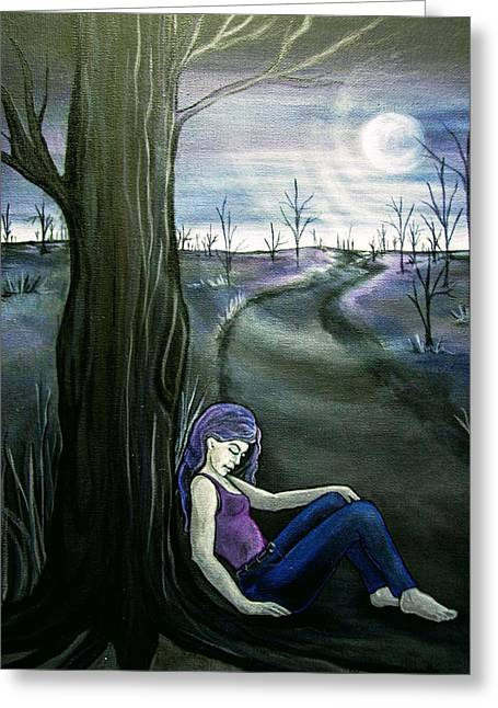A Moment To Rest Greeting Card by Jan Wendt