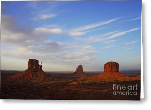A Monumental View  2 Greeting Card by Mel Steinhauer