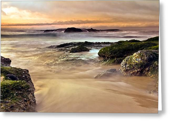 A New Day Greeting Card by Andrew Raby