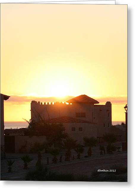 Greeting Card featuring the photograph A New Day by Dick Botkin