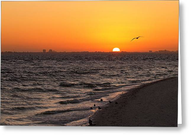 A New Day - Sanibel Island Greeting Card