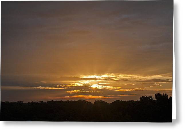 A New Day - Sunrise In Texas Greeting Card