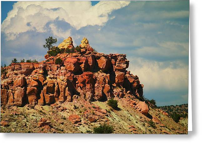 A New Mexico View Greeting Card by Jeff Swan