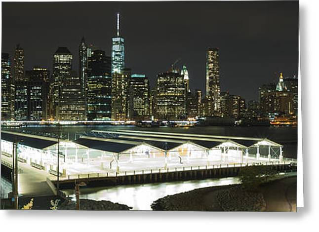 A New York City Night Greeting Card