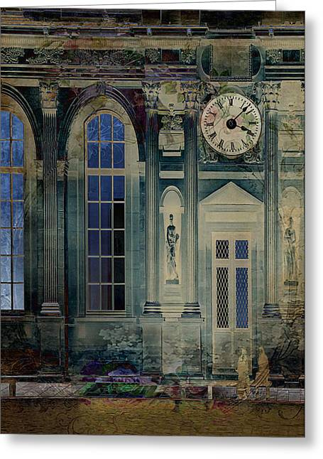 A Night At The Palace Greeting Card by Sarah Vernon