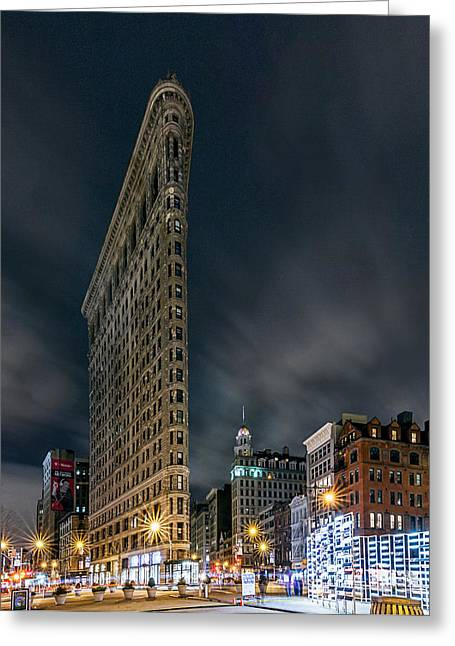 A Night In Nyc Greeting Card