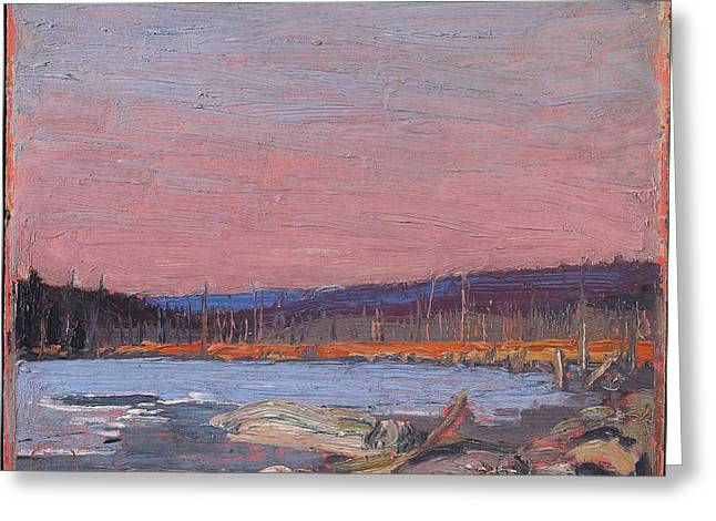 A Northern Lake Greeting Card