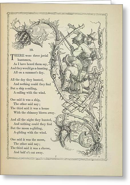 A Nursery Rhyme Greeting Card by British Library