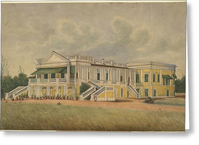 A Palladin Mansion Greeting Card