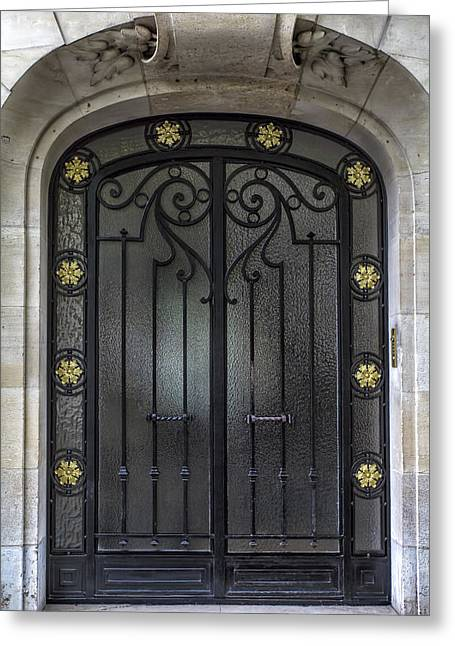 A Paris Door Greeting Card