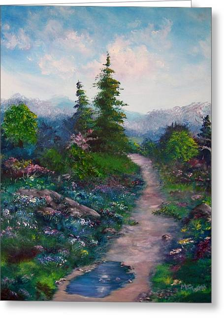 A Path Unknown Greeting Card