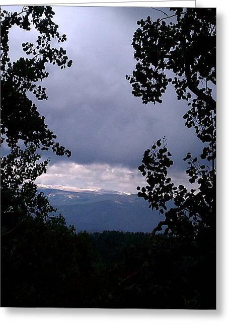 Greeting Card featuring the photograph A Peek At Heaven by Fortunate Findings Shirley Dickerson