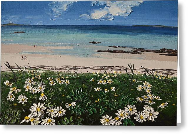 A Perfect Day At Coral Strand Connemara Ireland Greeting Card