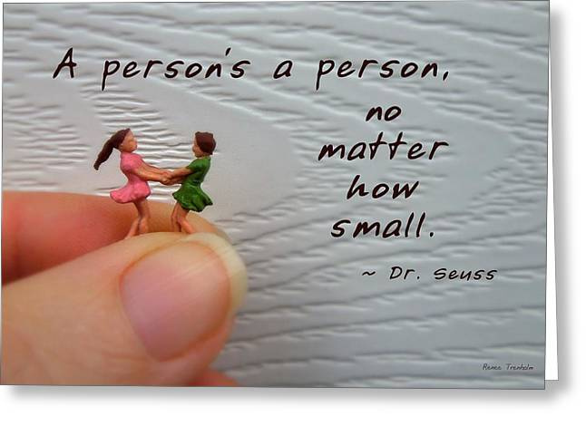 A Person . . . Greeting Card