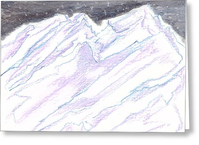 A Piece Of The Alaska Range2 Greeting Card