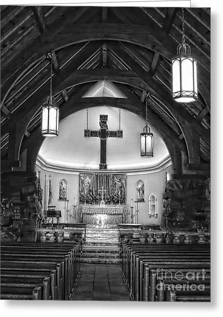 A Place For Prayer Greeting Card by Marcia Lee Jones