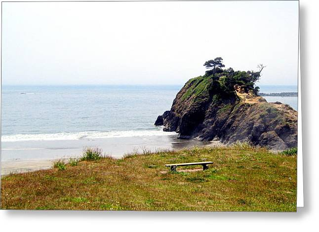 A Place Of Solitude Greeting Card by AJ  Schibig