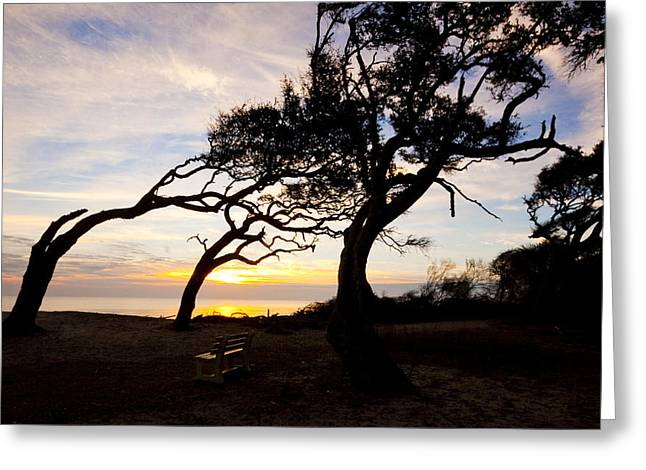 A Place To Watch The Sunrise Greeting Card by Michael Ray