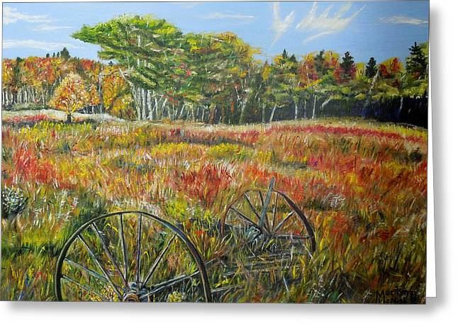 A Prairie Treasure Greeting Card by Marilyn  McNish