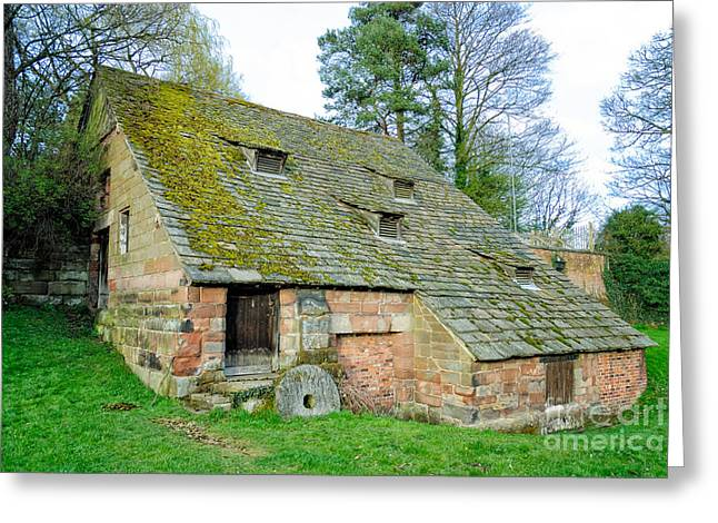 A Preserved Corn Mill From Medieval England - Nether Alderley Mill - Cheshire Greeting Card