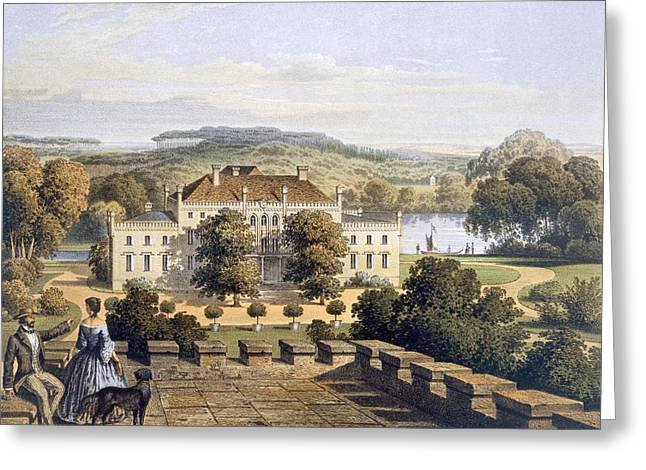 A Prussian Royal Residence, C.1852-63 Greeting Card