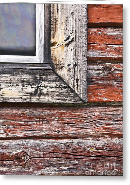 A Quarter Window Greeting Card by Heiko Koehrer-Wagner