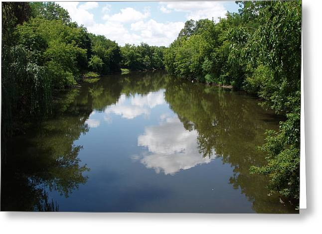 Greeting Card featuring the photograph A Quiet River by Teresa Schomig