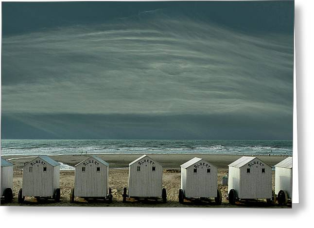 A Quiet Spot By The Sea, Just To 'be' ... Greeting Card