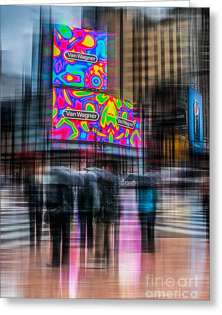 A Rainy Day In New York Greeting Card